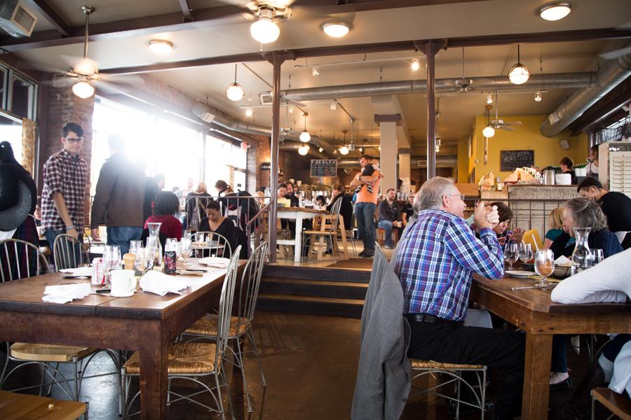 Marche Restaurant Interior